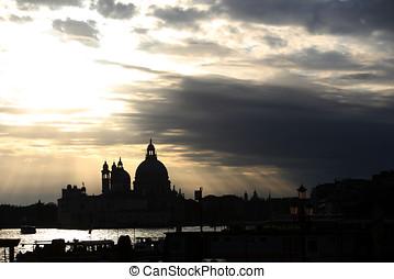 Cloudscape over Santa Maria della Salute