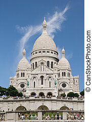 Basilique du Sacre-Cur, Paris - Basilique du Sacre-Cur in...