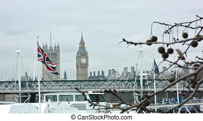 British Flag with Big Ben