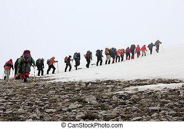 alpiniste,