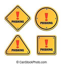 phishing - warning signs - suitable for warning signs
