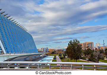 City of Arts and Sciences in Valencia. - VALENCIA, SPAIN - :...