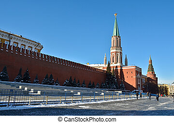 Moscow Kremlin and the Red square - The Moscow Kremlin and...
