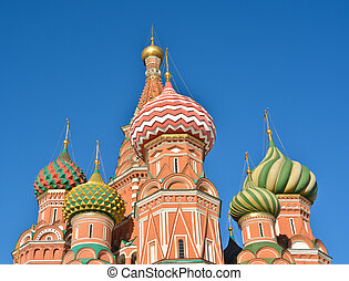 St Basil's Basilica - the world cultural heritage of UNESCO....