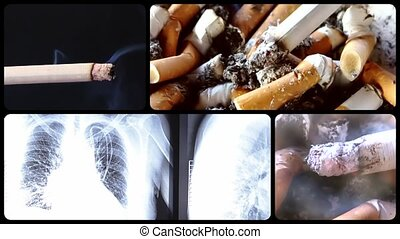 Anti-smoking clip - Danger of smoking series