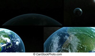 Vision of the earth from outer spac - Wonderful planet earth...