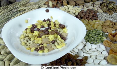 Healthy Way of Eating - In a bowl poured a mixture of...