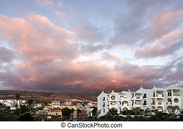 Sunset at Callao Salvaje Santa Cruz de Tenerife Spain