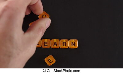 Letter Blocks Spelling Learn More