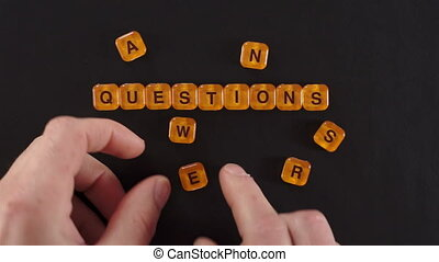 Letters Blocks Questions Answers