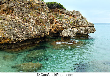 Porto Zorro beach Zakynthos, Greece - View from Porto Zorro...