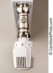 thermostat heating - the thermostat of a radiator is...