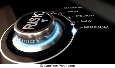 Risk Assessment - Switch button positioned on the word...