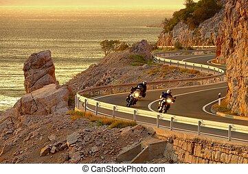 coast road croatia