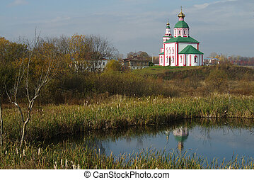Christianity church of St. Elias in Russia, Suzdal - SUZDAL,...