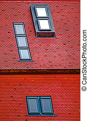 Roof tile with windows 1