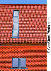 Roof tile with windows 5