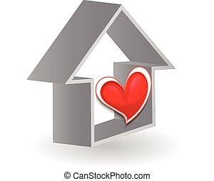 Logo Real Estate concept vector