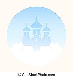 Church in the clouds