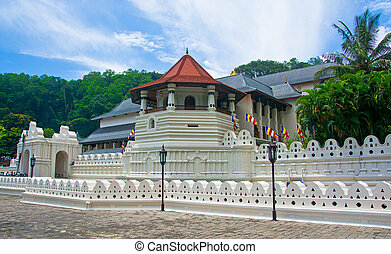 Temple Of The Sacred Tooth Relic, That Is Located In The...