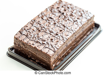 Chocolate cake - Tasty, delicious, nicely frosted chocolate...