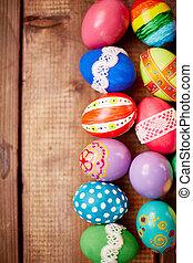 Egg rows