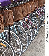 車輪, 自転車
