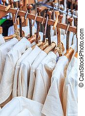 Mode, kleidung, Kleiderbügel