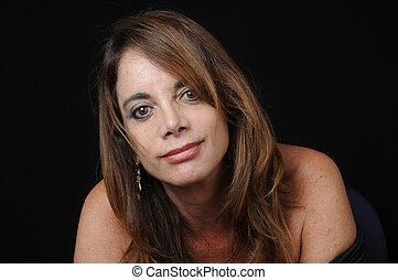 Mature Latin Woman - Smiling Latin Woman