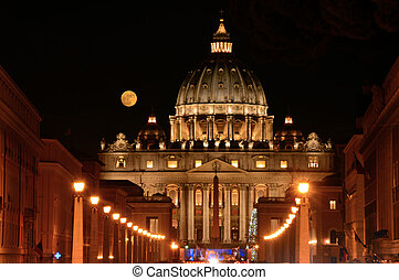The Basilica of St. Peter in the Vatican - Rome - Italy