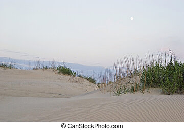 beach evening - north carolina cape hatteras