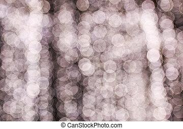 Bokeh light background