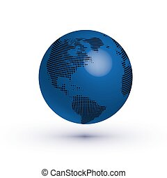 Vector earth icon eps 10 vector illustration