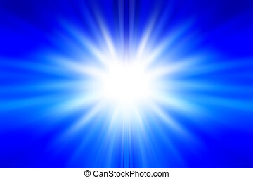 Blue background - Bright abstract blue and white background...