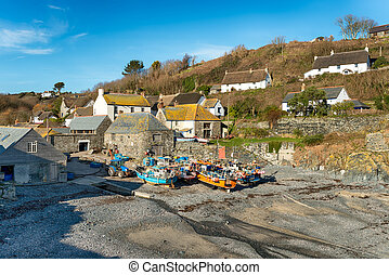 Cadgwith in Cornwall