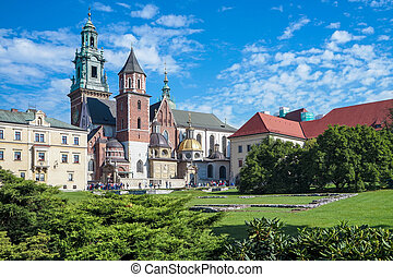 Wawel Cathedral in Krakow Poland