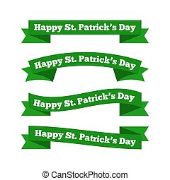 St patrick's day ribbons