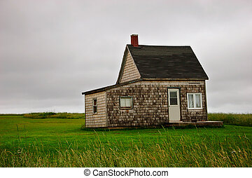 Little House - A lonely little house on Prince Edward...