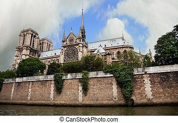 Notre Dame de Paris, France - A view of Notre Dame de Paris...