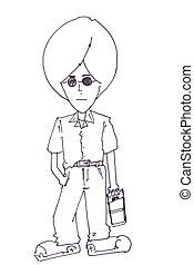 teen boy cartoon