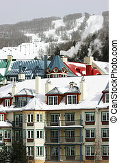 Ski Resort 1 - This is a ski resort in Mont-Tremblant,...