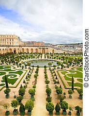 Versailles Garden, France - One of Versailles Palace garden,...