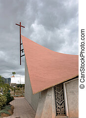 Partial view of the Church of Jesus Christ Redeemer Callao...