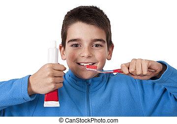dental, higiene,