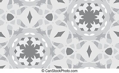 Desaturated Geometric Pattern - Desaturated geometric shapes...