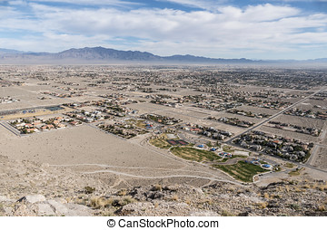 Sprawling Desert Development - Sprawling desert development...