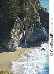 Mcway Falls - McWay falls is a popular destination along...
