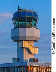 Air Traffic Control - Small Air Traffic Control Tower as a...