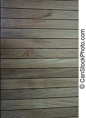 line up teak wood for background used