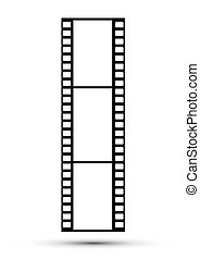 Frames of photographic film